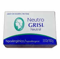 GRISI NEUTRAL NEUTRO SOAP Balancing 3.5 oz Scent Bar Hand Face Jabon 1 Pack