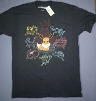 NWT Pokemon The Many Evolution's of Eevee - Men's Medium T-Shirt