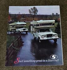 VTG 1969 Advertising Starcraft Slide In Campers Jeep Truck Photo N