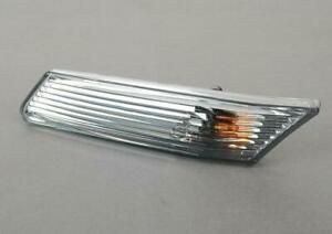 Porsche 987 Boxster Cayman Clear Side Marker Light Left Genuine 98763103302