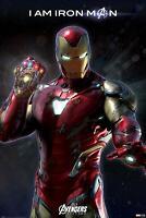 Avengers-Endgame-Line Up-Poster Size 91,5x61 cm