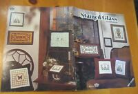 STAINED GLASS -  CROSS STITCH  LEAFLET