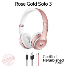 Beats by Dr. Dre Solo3 Wireless On-Ear Headphones ROSE GOLD Bluetooth OEM