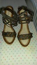 **KRASCEVA** ladies brown shoes size 7