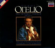 CD- GIUSEPPE VERDI - OTELLO - VON KARAJAN - WIENER PHILARMONIKER-- BOX 2- ZCD2