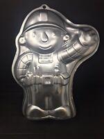 Wilton Construction  Bob the Builder Cake Pan jello mold #2105-5025 2002 EUC