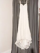 ALLURE BRIDALS Lace Sweetheart Wedding Dress Size 6
