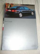 Audi Coupe range brochure Jul 1994 German text