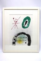 Joan Miro 1893-1984 Die Gärtnerstochter Farblithographie