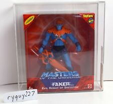MOTU, Faker, AFA 90, graded, He-Man 200x, Toyfare Exclusive, MOC, MISB, sealed