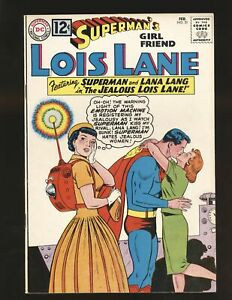 Superman's Girlfriend Lois Lane # 31 Fine/VF Cond. cf detached at top staple