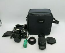 Praktica BC1  35mm Film Camera with extra Lens PB 80 200 With carry case