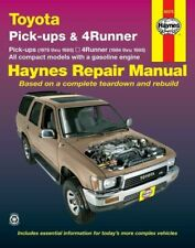 Toyota Pick-Ups '79-'95; 4Runner '84-'95 Compacts w/ Gas Engines Haynes 92075