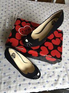 TUK Kitty Cat Shoes / Heels. Size 4. Olympia Vibes. Cute Kawaii 👠