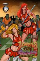 Zombies vs Cheerleaders Geektacular 2020 Ryan Kincaid Variant NM/M - Ltd to 50