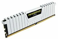 Corsair CMK16GX4M2B3000C15W Vengeance LPX 16 GB 2 x 8 GB DDR4 3000 MHz C15 XMP