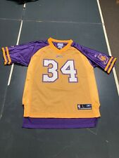 Vintage Rare Shaquille O'Neal Lakers Football Jersey