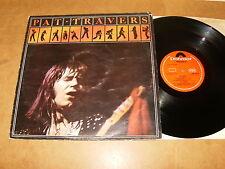 PAT TRAVERS : SELF TITLED - UK LP 1976 - POLYDOR 2383 395
