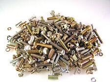 Mixed Bolts Screws Nuts Hardware Pack Min Wt.250g Qty 200+ Pieces Ol0304B