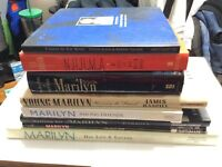 Marilyn Monroe Book Lot
