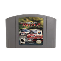 Top Gear Rally 2 64 (Nintendo 64, N64) Authentic Cleaned Tested Game Cart Only
