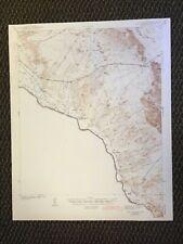 Vintage USGS Fort Quitman Texas 1943 Topographic Map