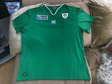 Canterbury Ireland Rugby Union World Cup 2015 Home Shirt 2XL BNew Without Tags