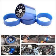 Car ACCESSORIES Supercharger Power Universal Air Intake Dual Fan Turbine Turbo