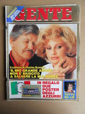 GENTE n°22 1990 Charles Bronson Wanna Marchi Pugile Rocky Graziano  [D50]