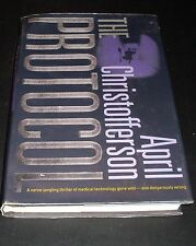 The Protocol by April Christofferson (1999, Hardcover, Revised)