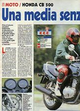 Z83 Ritaglio Clipping 1994 Honda CB 500
