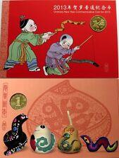 1 yuan 2012-china-año de la serpiente