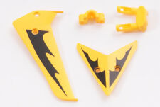 SYMA S107 RC HELICOPTER SPARES YELLOW TAIL FIN SET