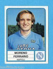 PANINI CALCIATORI 1983/84 -Figurina n.180- FERRARIO - NAPOLI -Rec