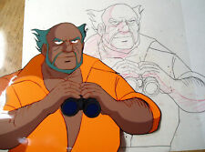 Anime Cel Pencil Tekkaman? Tryder G-7? Anyone Know?