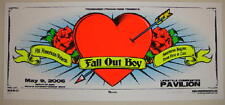 2006 Fall Out Boy & All American Rejects - Columbus Silkscreen Concert Poster