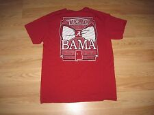 NCAA Football Alabama Crimson Tide To 'Bama T-Shirt/Free Shipping!