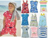 Mini Boden girls jersey print playsuit romper shorts summer age 2 - 16 years new