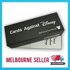Cards Against Disney/Cards Against Humanity *Disney Black Edition* AUS STOCK