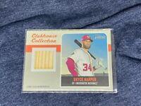 Bryce Harper - Topps Heritage 2019 Game Used Memorabilia Relic Baseball Card