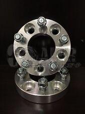 "2pcs 1.25"" 5 Bolt Lug Hub Wheel Adapters 5x120 Spacers 12X1.5 BMW 330 Bolt On"