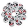Pack of 10Golf UK Flag Skull Golf Club Iron Head covers Headcovers Fr Ping Cobra