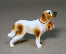 Small Porcelain Saint Bernard Dog Figurine