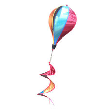 "55"" Hot Air Balloon Windsocks Windmill Garden Yard Outdoor Toy Decor Sequins"