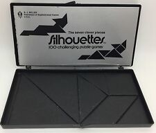 VTG S.J. Miller SILHOUETTES: 100 Challenging Puzzle Games w/ 7 Pieces! (RF602)
