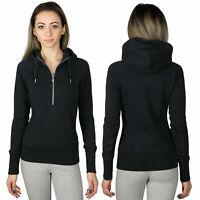 Nike Women's AW77 Hoodie Hoody Hooded Jacket Slim Fit Terry Organic Cotton XS