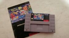 Pocky & Rocky 2 Super Nintendo SNES with Manual Authentic Tested Collectible