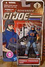 GI JOE ~ 2011 COBRA TROOPER ~ RENEGADES PARATROOPER ~ MOC 30th 1982