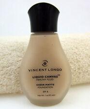 Vincent Longo Liquid Canvas Healthy Fluid Golden Porcelain 1 oz Sheer Matte Face