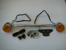 Rear Chrome Indicator relocation kit Harley-Davidson XL, & Dyna 380220 162369